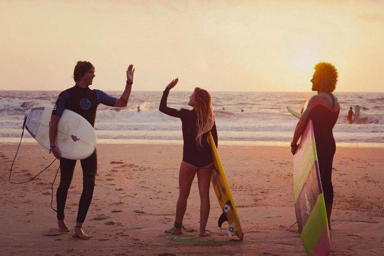 Korting Surfles bij Longfield Surfschool in Noordwijk (2 p.)