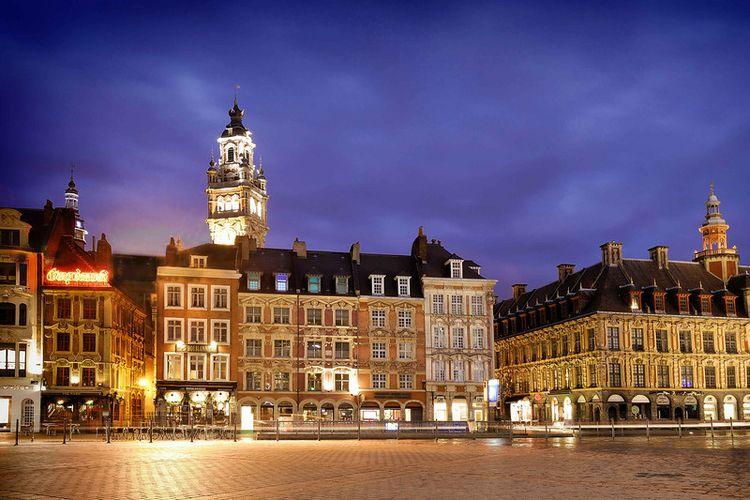 Overnachting in een 4-sterrenhotel in Lille, Frankrijk