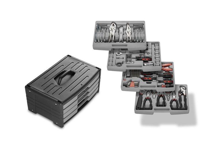 Korting 105 delige gereedschapskoffer van Wolfgang