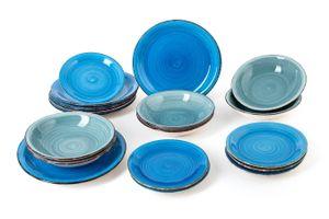 18-delige bordenset van Quid (Vita Blue)
