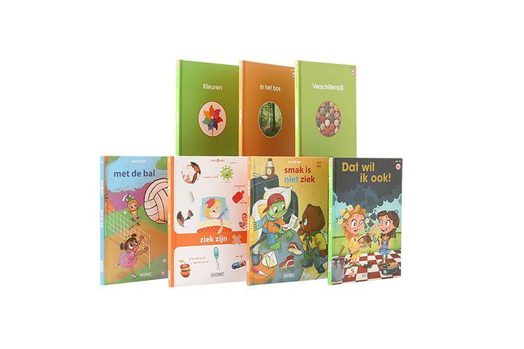 Boekenpakket voor de eerste lezers (vanaf 6 jaar)