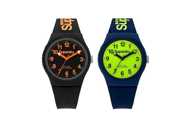 Korting Set van 2 Superdry horloges