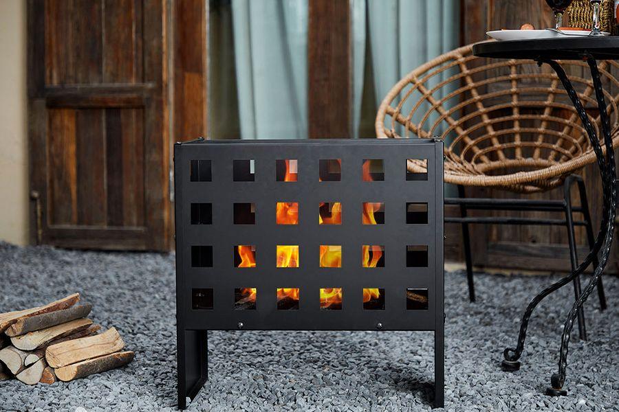 Vierkante vuurkorf van Buccan