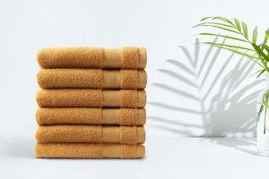 6 Luxe handdoeken van 50 x 100 cm  (3 + 3 stuks)