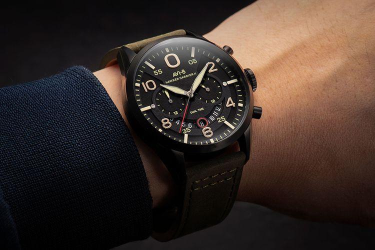 Geschenkset met herenhorloge van AVI-8
