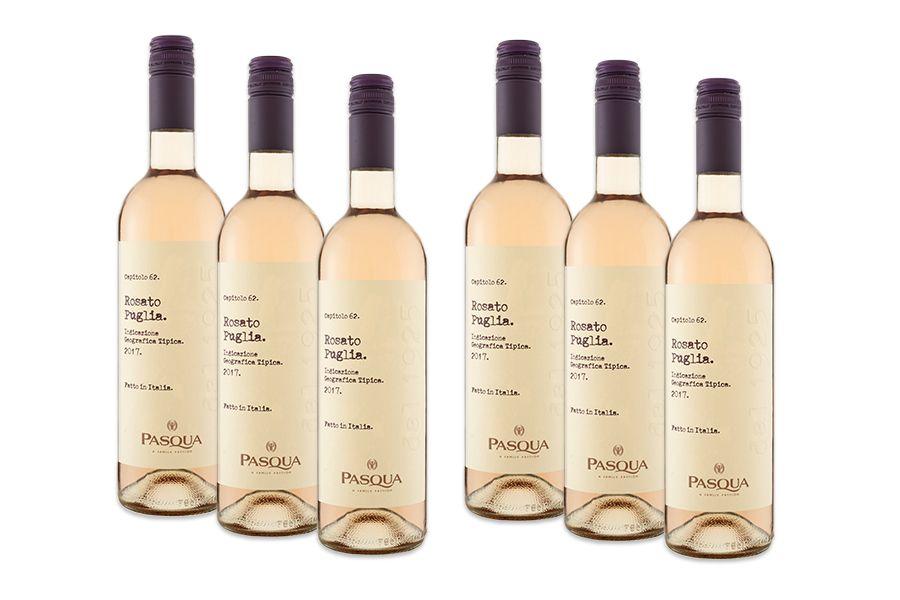 6 flessen Pasqua Le Collezioni Rosato rosé wijn (750 ml)