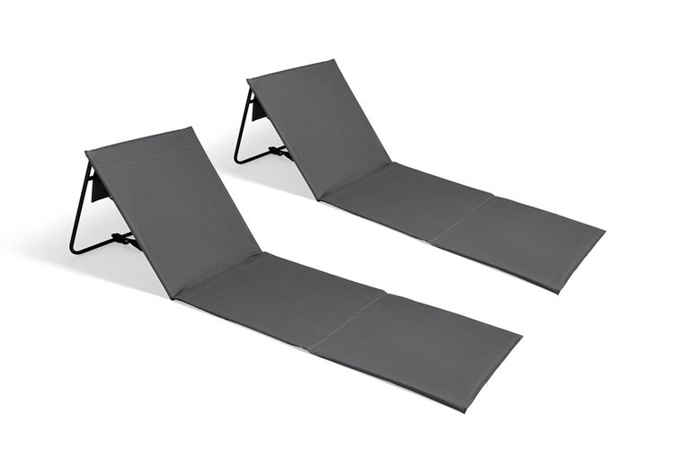 SlaJeSlag 2 opvouwbare ligstoelen van Intimo