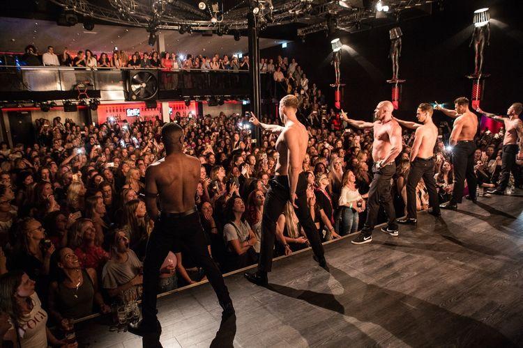 Heren uit de Kleren Ladies Night in Almere (2 p.)