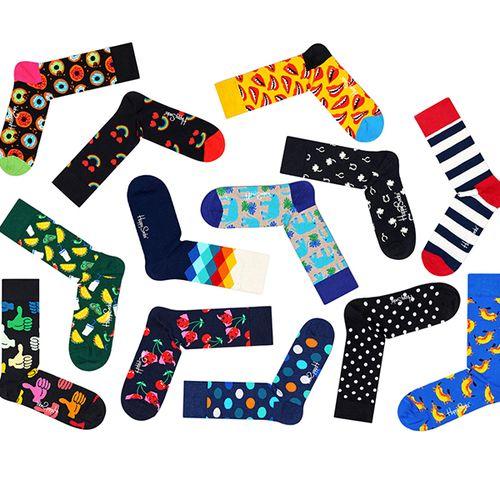 6 paar Happy Socks