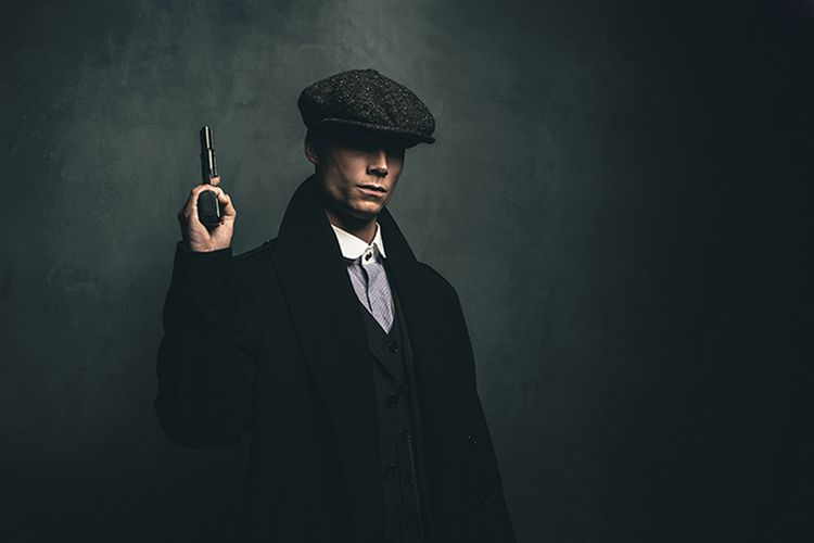 Korting Paintball of airsoft met Peaky Blinders thema