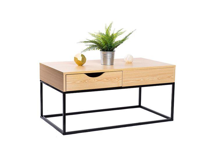 Rechthoekige salontafel (model: Malmi)