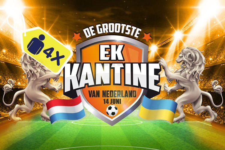 Korting EK 2020 Nederland Oekraïne met Wolter Kroes, Ahoy (4p.) Rotterdam