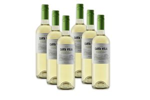 6 bouteilles de vin : Carta Vieja Sauvignon (750 ml)