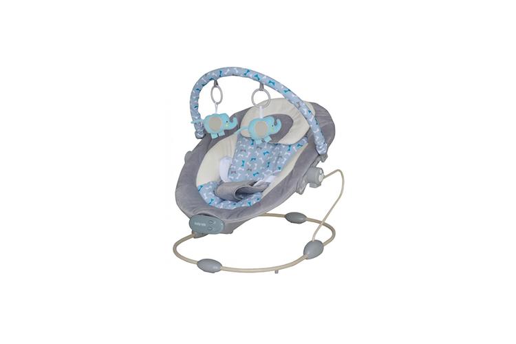 Baby Bouncer met muziek en speelmobiel