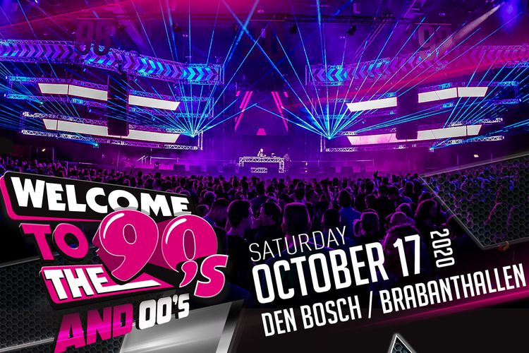 Welcome 2 the 90's & 00's in de Brabanthallen (2 p.)