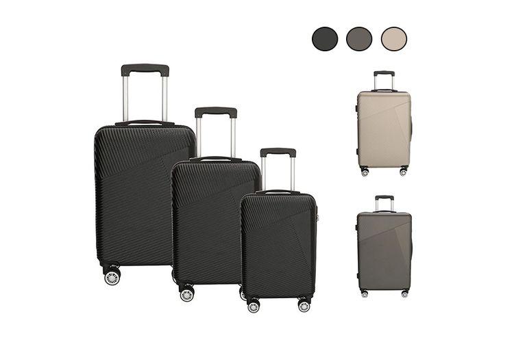 3-delige kofferset (keuze uit 3 kleuren)