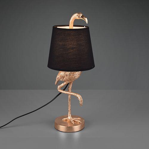 Tafellamp met flamingo
