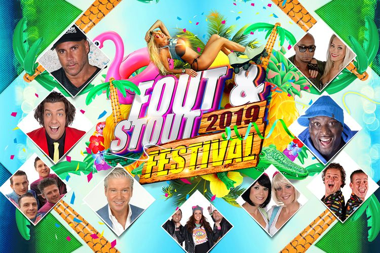 Fout&Stout Outdoor Party op Arenapark Amsterdam (2 p.)