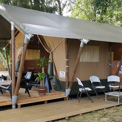 Week kamperen in de Franse Bourgogne (4 p.)