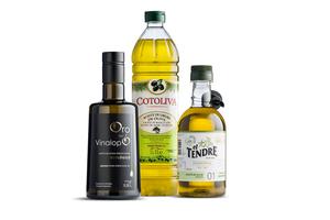 Pakket met 3 flessen olijfolie van Alicanta