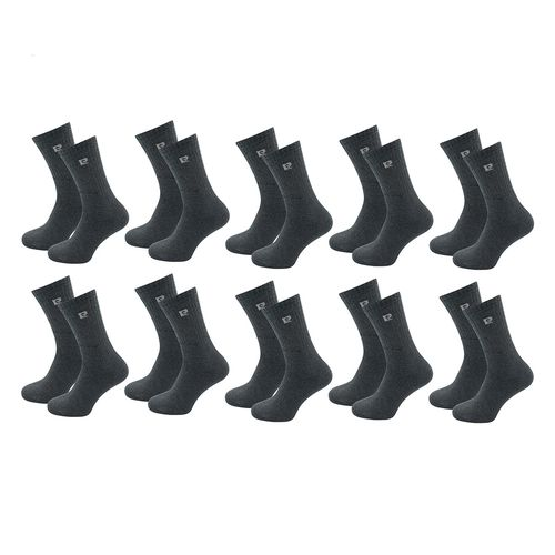 10 paar antraciete sokken van Pierre Cardin