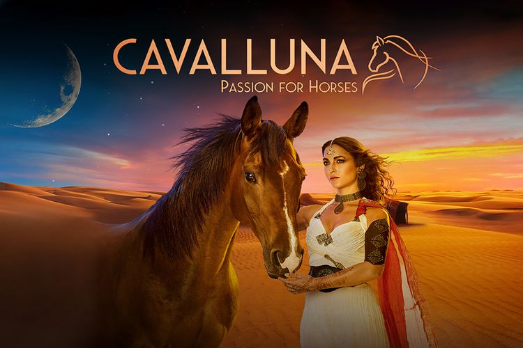 CAVALLUNA: Legend of the Desert in Rotterdam Ahoy (2 p.)