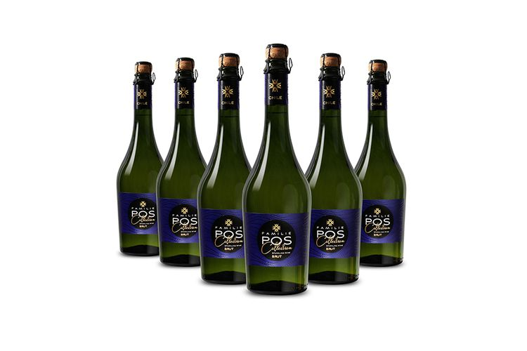 Familie POS Collection: 6 flessen Sparkling Wine Brut