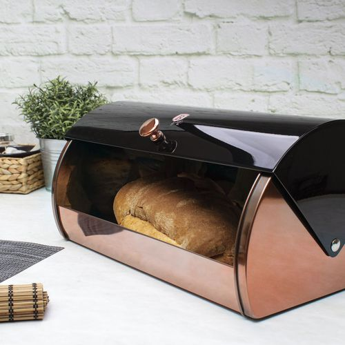 Broodtrommel van Berlinger Haus (ros�goud - zwart)