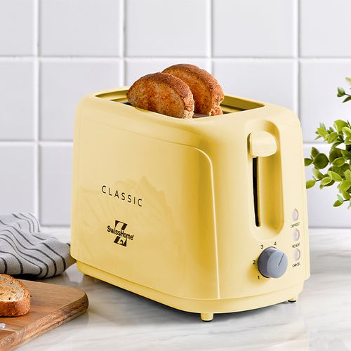 Broodrooster van SwissHome (geel)
