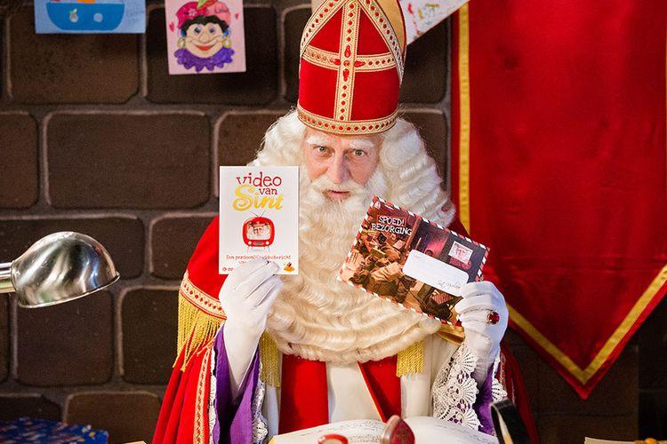 Persoonlijke videoboodschap van Sinterklaas met extra's!