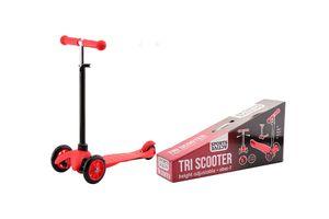 Trottinette pour enfants rouge à 3 roues