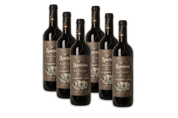 6 flessen rode wijn Anciano Clasico Garnacha (750 ml)