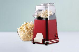 Retro popcornmachine (kleur: rood)