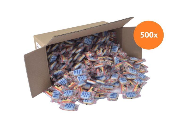500 stuks 6-in-1 vaatwastabletten, voor ruim 1 jaar
