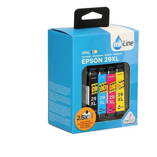 4 cartridges voor Epson-printers
