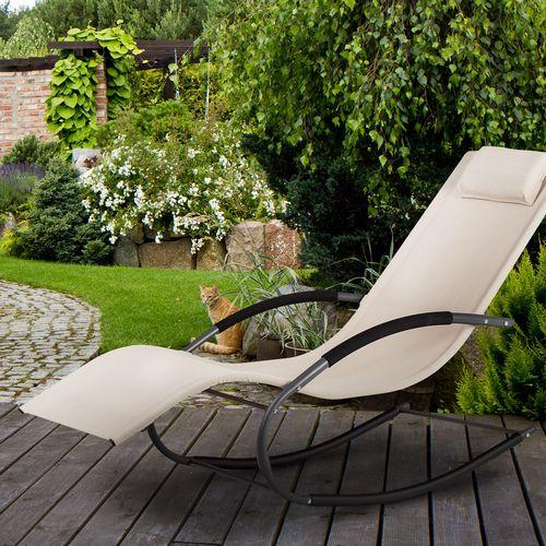 Comfortabele schommelstoel voor buiten van Goodhome