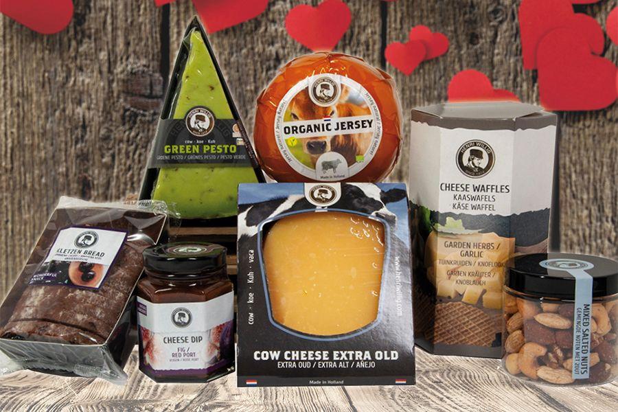 Valentijn kaaspakket van Henri Willig