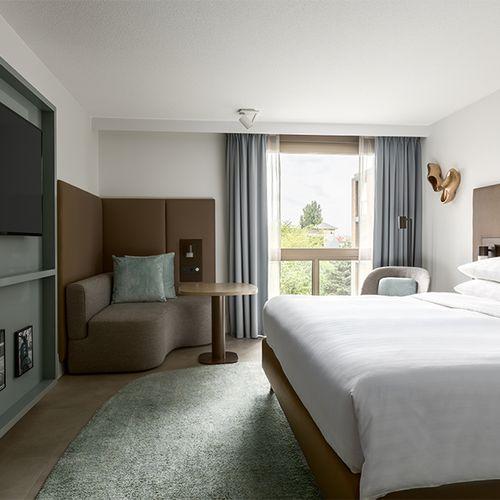 Overnachting bij 5-sterren Amsterdam Marriott Hotel