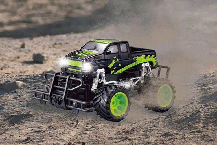 Korting Monstertruck raceauto (20 km h)