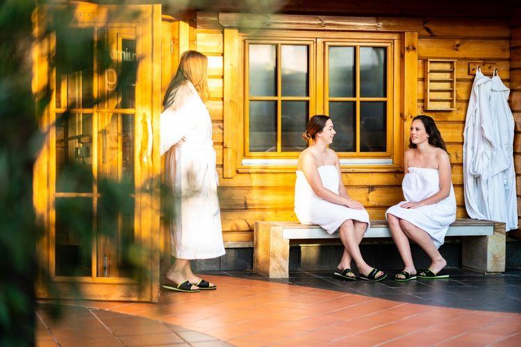 Saunadag met massage naar keuze bij Sauna Oase (2 p.) Nederasselt
