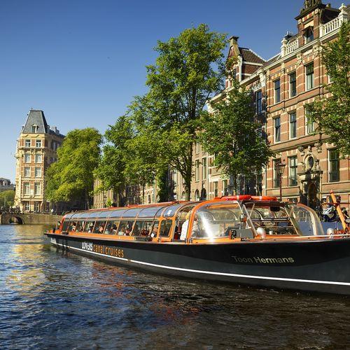 Rondvaart door Amsterdamse grachten