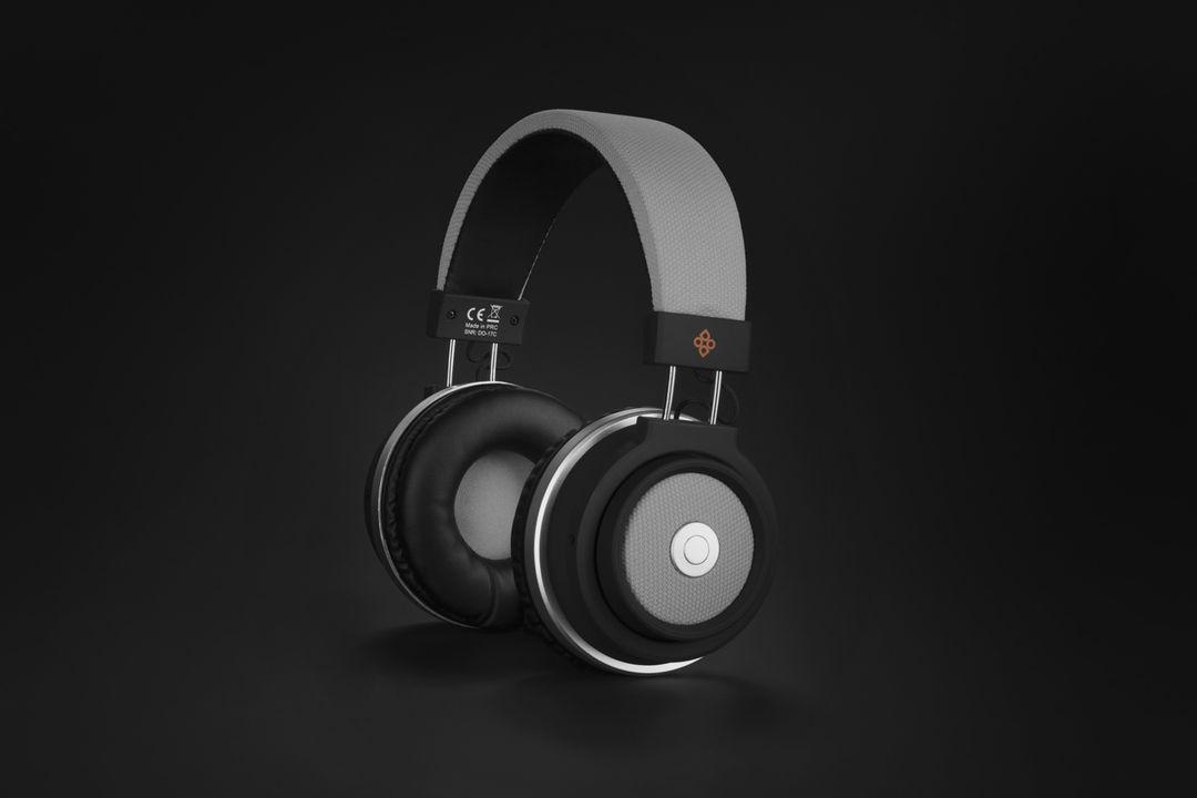 Bluetooth koptelefoon van Dutch Originals (grijs)