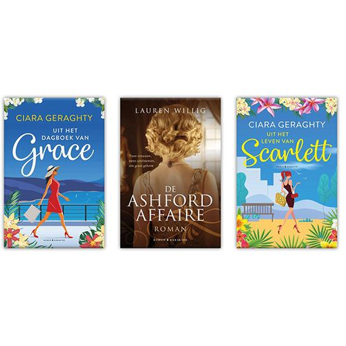Boekenpakket met 3 romans