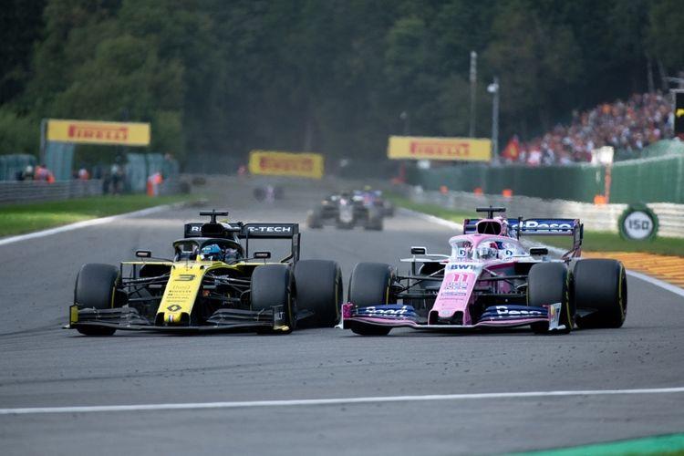 Korting 2 tickets voor de vrije training Formule 1 GP in België