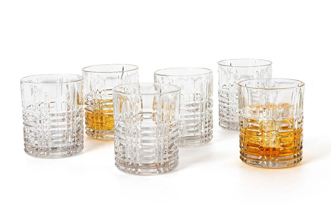 Set van 6 whiskyglazen van Quid (model: Athena)
