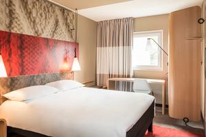 1 nacht in Ibis 3* hotel in het centrum van Gent (BE)