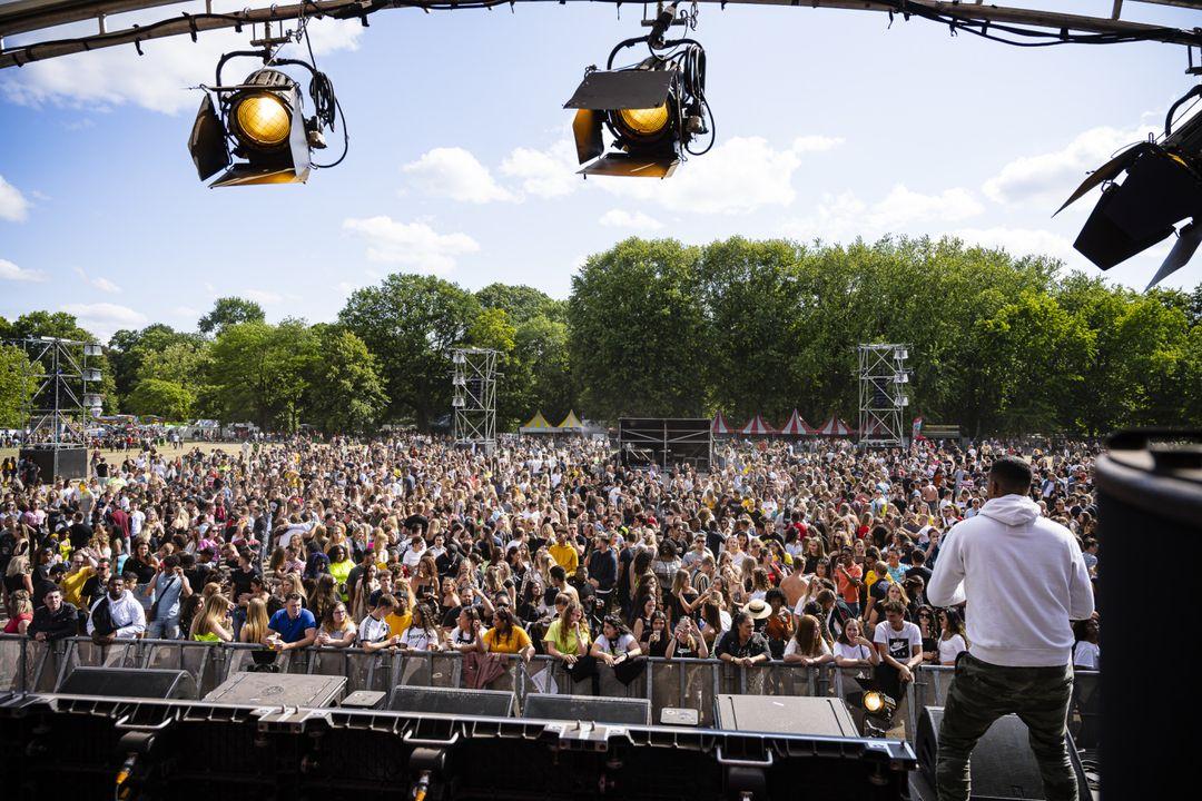 Park Beats Festival in 'T Leijpark Tilburg