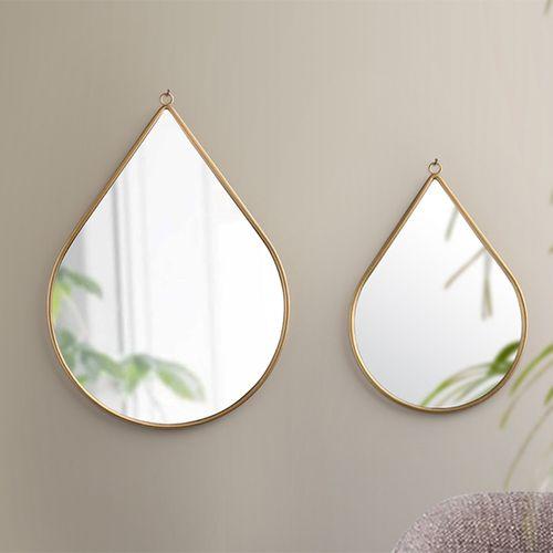 2 druppelspiegels van Lifa Living (model: Anna)