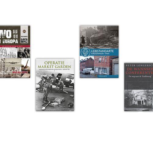 4-delig boekenpakket Tweede Wereldoorlog
