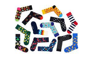 Verrassingspakket met 6 paar Happy Socks (maat 41 - 46)